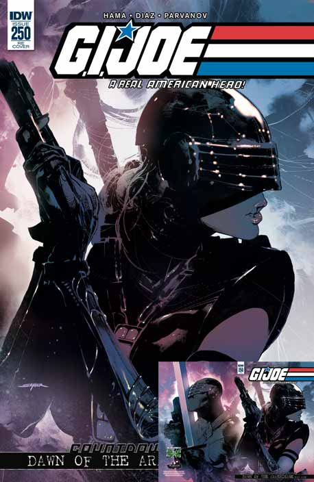 G.I.Joe #250 Sayger exclusiver cover
